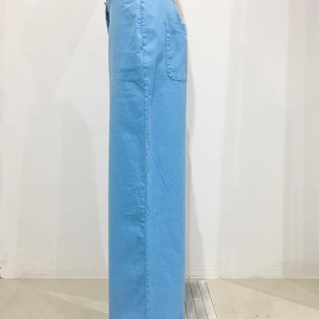 Aequamente/高密度コットンストレッチ・パンツ21221