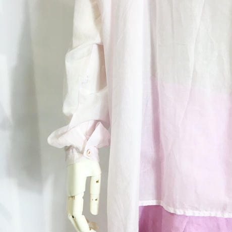 Lady'sコットンボイルトップス(ローズピンク)/HannohWessel/38