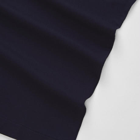 Loreak/Organic Cotton グラフィックロゴT-シャツ/ネイビーM