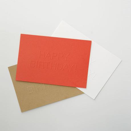 dot メッセージカード HAPPY BIRTHDAY!