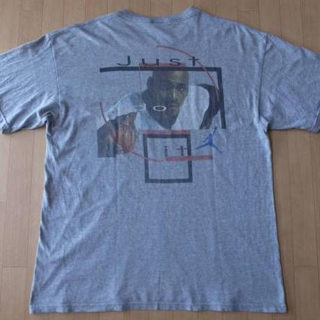 90's USA製 NIKE AIR JORDAN Tシャツ L AJ BRAND NSW ナイキ エアジョーダン【deg】