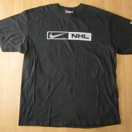 90's USA製 NIKE NHL Tシャツ L ホッケー Los Angeles Kings ナイキ アイスホッケー【deg】