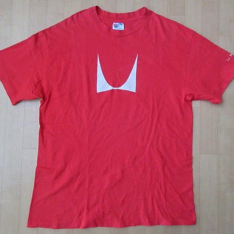 90's USA製 Herman Miller Mロゴ Tシャツ L ハーマンミラー George Nelson ジョージ ネルソンEames イームズ ミッドセンチュリーART【deg】