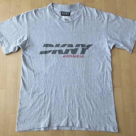 90's USA製 DKNY ディーケーエヌワイ athletic 半袖 Tシャツ S ダナキャラン NYC ニューヨーク【deg】