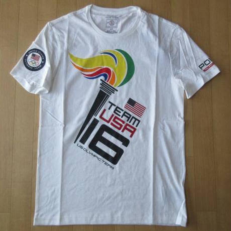 POLO RALPH LAUREN Rio 2016 Olympics U.S. OLYMPIC TEAM TシャツSポロ ラルフローレン リオ オリンピック アメリカ 代表USA【deg】