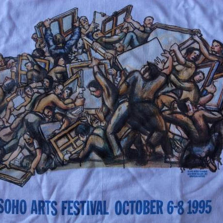 90s SOHO ART FESTIVAL 1995 ニコル アイゼンマン Nicole Eisenman TシャツART芸術 アート【deg】