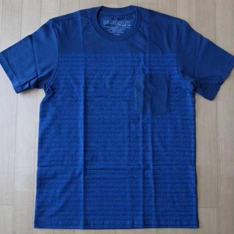 パタゴニア M's Round About Logo Tシャツ PATAGONIA ネイビー サイズ XS【deg】