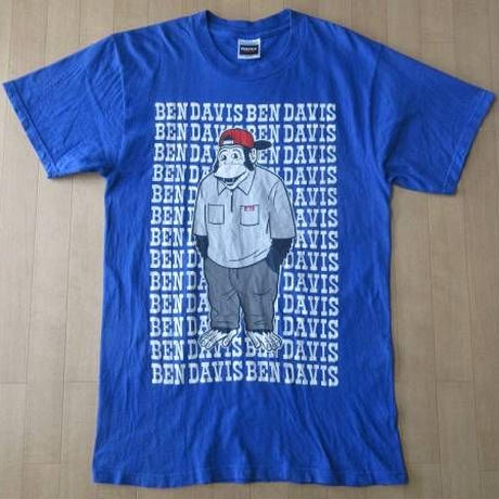 90's BEN DAVIS 両面プリント TシャツMベンデイビス ワーク WORK【deg】