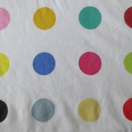 ダミアン ハースト スポットペインティング Tシャツ M ホワイト Damien Hirst Spot Paintings ART芸術 現代美術LSDコンテンポラリーアート【deg】