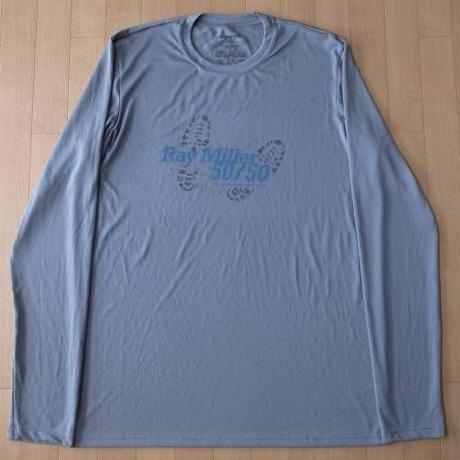 パタゴニア Men's Capilene1 Crew Special Ray Miller 5050 速乾性 長袖 Tシャツ M グレー系 キャプリーン トレイル ランニング【deg】