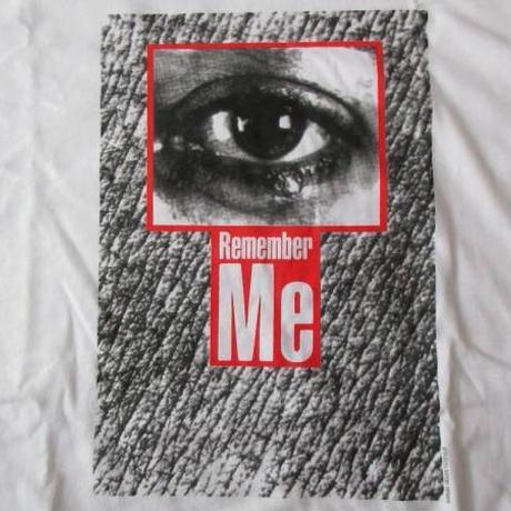 バーバラ・クルーガー FOTOFOLIO リメンバーミー Tシャツ L 白 Barbara Kruger Remember MeフォトART芸術 現代美術 メッセージ 藤原ヒロシ【deg】
