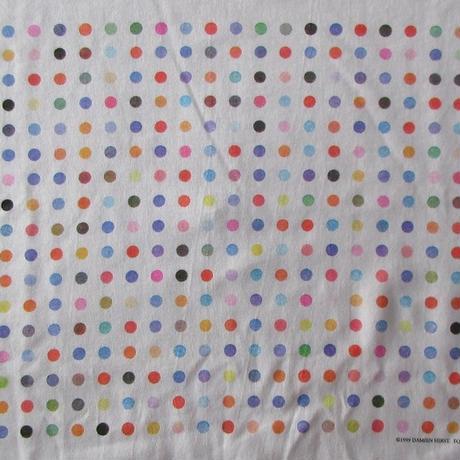 90's ダミアン ハースト センセーション展 スポットペインティング Tシャツ L SENSATIONブルックリン美術館Damien Hirst芸術ART現代美術【deg】