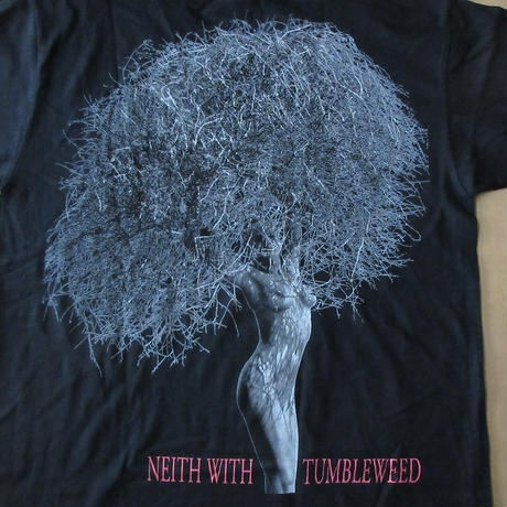 80's 90's USA製 ハーブ リッツ Neith With Tumbleweed Paradise Cove フォト TシャツXL Herb Ritts写真家 マドンナ エロ【deg】