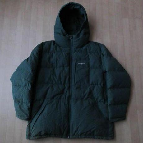 2006年 パタゴニア ダウン パトロール ジャケット XL グリーン系 PATAGONIA Down Patrol Jacket フード ダスパーカー アウトドアn【deg】