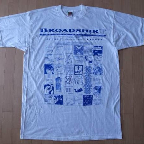 BROADSHIRT POETRY MAGAZINE 1996・Tシャツ サイズ・XL