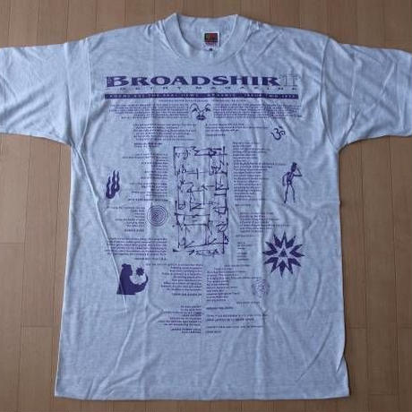 90's USA製 BROADSHIRT POETRY MAGAZINE 1995 Tシャツ XL