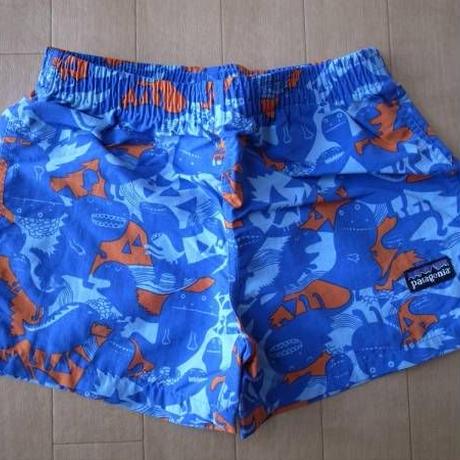 PATAGONIA パタゴニア Baby Baggies Shorts Special モンスター柄 ショーツ ベビーサイズ・18m 【deg】