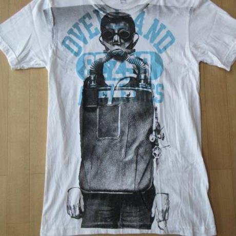 LABRAT ガスマスク男 フォト カレッジ ロゴ TシャツS ラブラットLABORATORY BERBERJIN RラボラトリーベルベルジンアールART芸術 現代美術【deg】