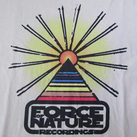 SARCASTIC FORCE OF NATURE コラボ III 長袖 Tシャツ M サキャスティック サーカスティック フォースオブネイチャー ロンT KZA DJ KENT【deg】