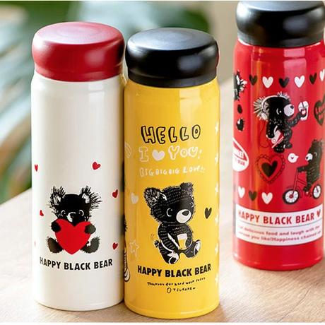 マグボトル 480ml HAPPY BLACK BEAR