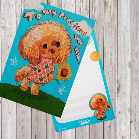 ポストカード Toy Poodle(トイプードル)