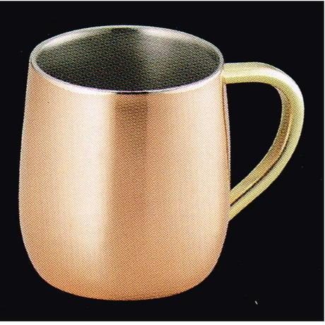 純銅製 2重マグカップ 250cc 食楽工房 日本製