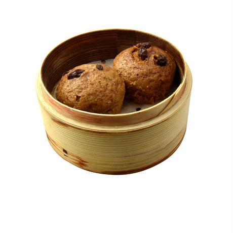 【台湾水餃子】[宅配]黒糖蒸しパン[2個入]