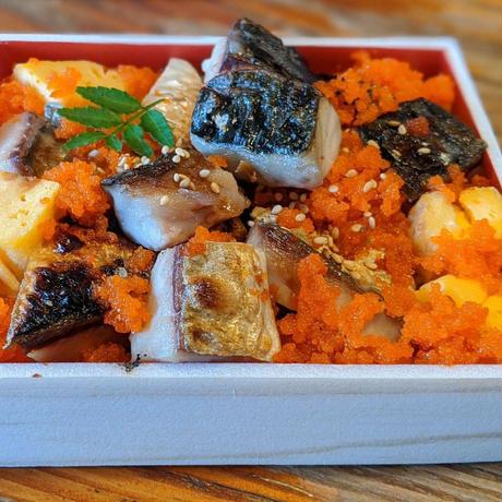 【更科】[宅配]塩鯖重弁当(単品)