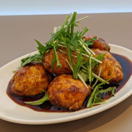 【nee-mart県庁前店】[宅配]鶏と豆腐のハンバーグ 照り焼きソース6個入り(冷凍)