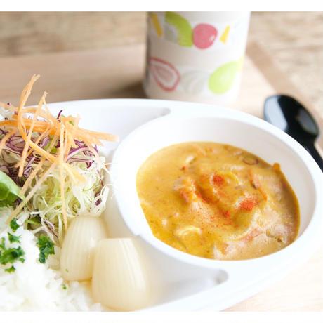 【cafe-nee】エビとホタテのココナッツカレー