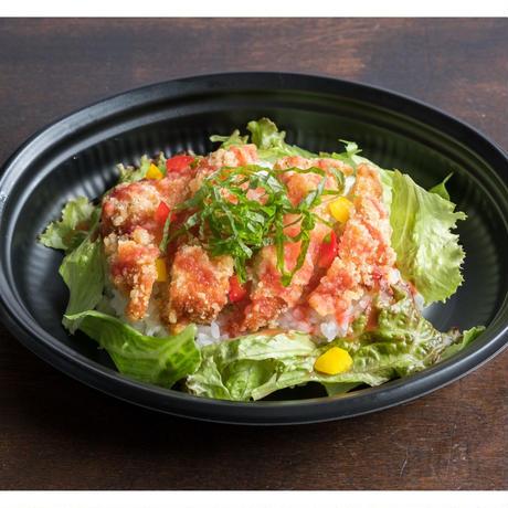 【MIRAI restaurant&cafe】チキンタツタの梅おろし丼