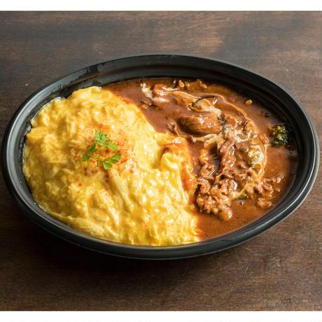 【MIRAI restaurant&cafe】肉のオムライス (デミグラスソース)