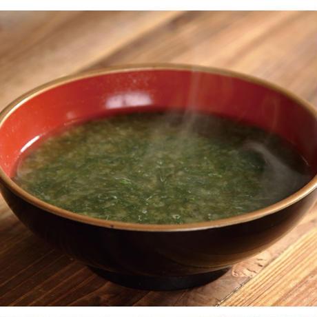 【炉端かば鳥取駅前店】あおさ海苔の海苔汁