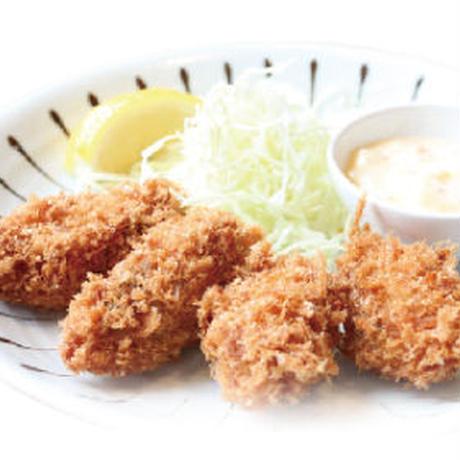 【炉端かば鳥取駅前店】カキフライ