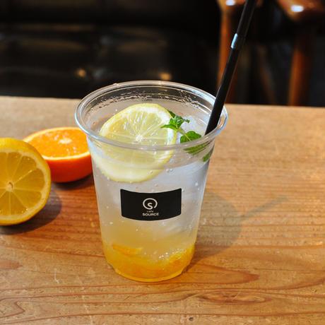 【cafe SOURCE】ゆずレモンスカッシュ