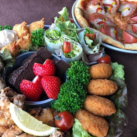 【MIRAI restaurant&cafe】🍕予約商品🍕ごちそうオードブルセット(マルゲリータ23cm付き)