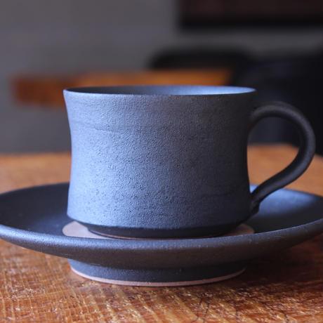 コーヒーカップソーサー付 マンガン