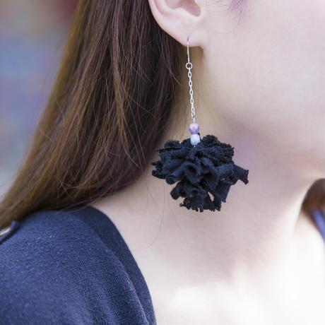 Material Flower chainBK