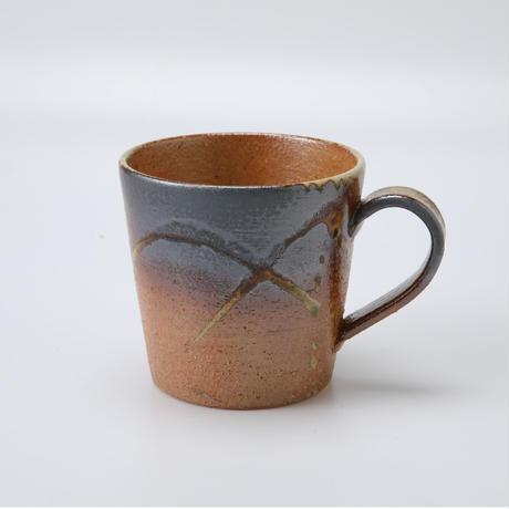 古信楽 切立マグカップ