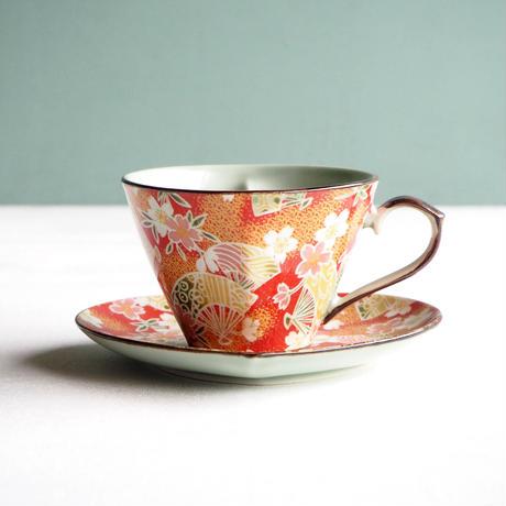 ハートコーヒーc/s扇桜赤