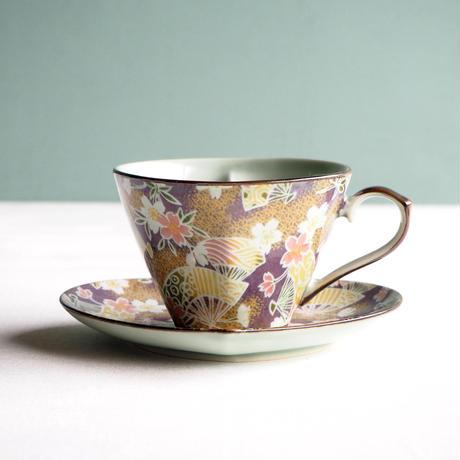 ハートコーヒーc/s扇桜紫