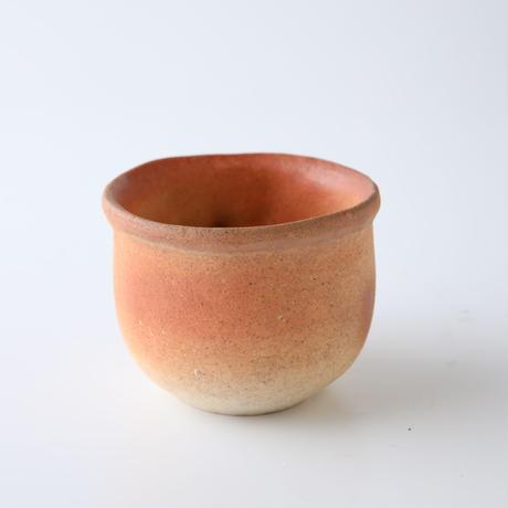 信楽焼 のぼり窯カフェオリジナル 手作り狸ペアカップ