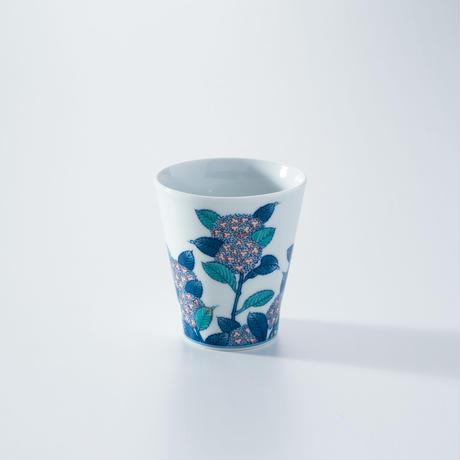 【泰仙窯】紫陽花フリーカップ