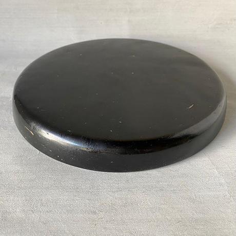 角平鉢LL 黒 020