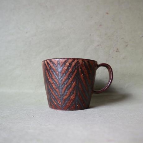 鉄絵マグカップ小 005