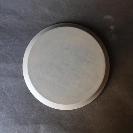 白漆細リム皿 007