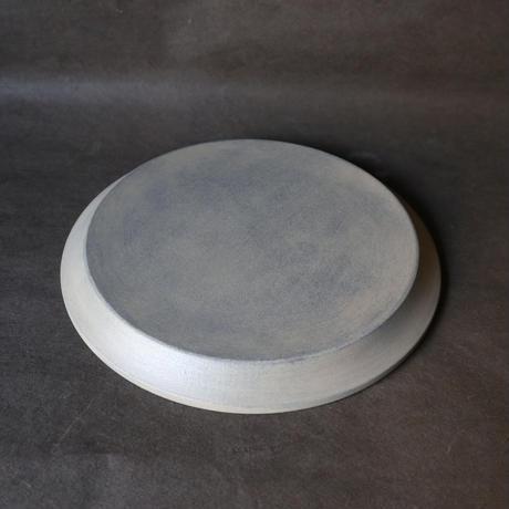 白漆細リム皿 006