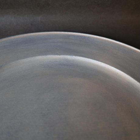 白漆リム皿 001