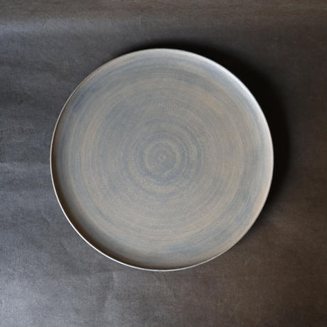 白漆丸皿 005