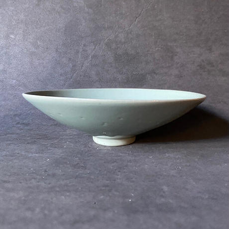 青磁平碗 灰色  013